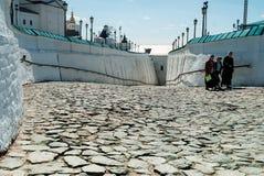 Верхняя часть Sofiysky Vzvoz в Tobolsk Кремле Стоковое Изображение