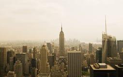 верхняя часть york утеса города новая стоковое фото rf