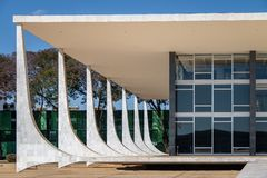 Верховный Суд Бразилии - трибунал Supremo федеральный - STF - Brasilia, Distrito федеральное, Бразилия стоковое фото rf