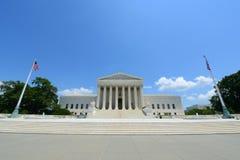 Верховный Суд Соединенных Штатов в DC Вашингтона, США Стоковые Изображения