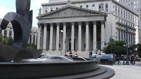 Верховный Суд штат Нью-Йорк сток-видео