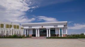 Верховный Суд hyperlapse timelapse Республики Казахстан astana kazakhstan сток-видео
