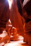 верхушка каньона az антилопы Стоковое Фото