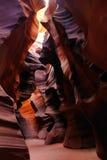 верхушка каньона az антилопы стоковая фотография rf
