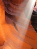 верхушка каньона az антилопы стоковая фотография