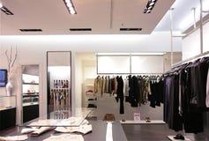 верхушка магазина одежд поясов стоковые изображения