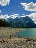 верхушка озера 2 kananaskis Стоковые Фото