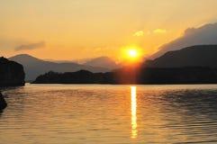 верхушка озера Стоковые Фото