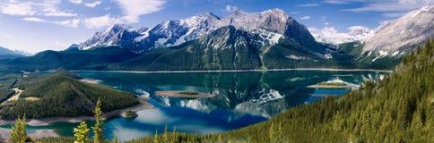 верхушка озера kananaskis Стоковое Фото