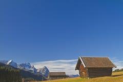 верхушка хаты сена Баварии Стоковые Фотографии RF