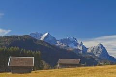 верхушка хаты сена Баварии Стоковые Изображения RF