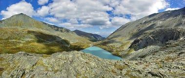 Верхушка Akcan озера Стоковое Фото