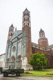 Верчелли, церковь Sant'Andrea Стоковые Изображения RF