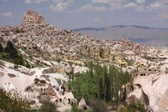 вершина холма замока Стоковое Фото