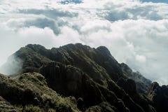 Вершина холма fansipan Стоковое Изображение RF