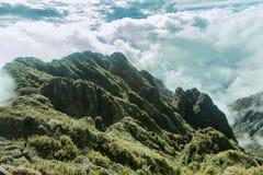 Вершина холма fansipan Стоковое фото RF