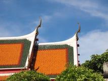 Вершина щипца на крыше королевского виска стоковое изображение