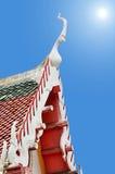Вершина щипца тайского виска Стоковые Изображения