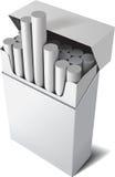 вершин Сальто трудный пакет сигареты Стоковая Фотография