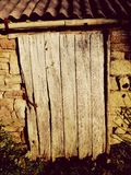 дверь амбара старая Стоковое Изображение RF