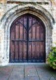 дверь богато украшенный Стоковое Изображение