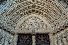 дверь готская Стоковые Изображения