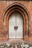 дверь готская Стоковая Фотография
