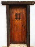 дверь деревенская стоковые фотографии rf