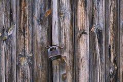 дверь детали старая Стоковое Изображение
