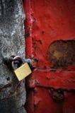 дверь зафиксировала Стоковые Изображения