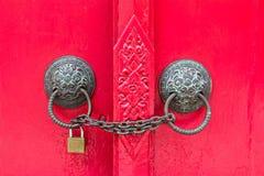 дверь зафиксировала Стоковая Фотография RF