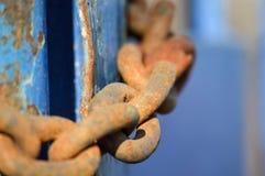 дверь зафиксировала Стоковая Фотография