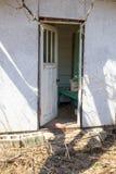 дверь открытая Стоковые Фото