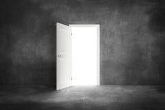дверь открытая стоковые фотографии rf