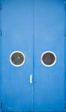 дверь промышленная Стоковые Фотографии RF