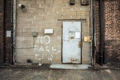 дверь промышленная Стоковое Изображение