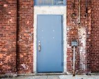 дверь промышленная Стоковое Фото