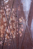 дверь ржавая Стоковое Изображение RF
