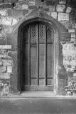 дверь средневековая Стоковое Фото