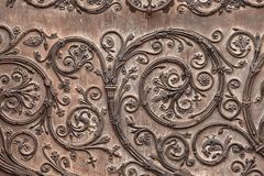 дверь церков старая Стоковое Фото