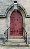 дверь церков Стоковое Изображение