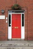 дверь dublin georgian Стоковые Изображения