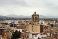 дверь orihuela орнаментальная Испания собора к Стоковые Изображения RF