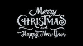 Веселое рождество С Новым Годом! отправляет SMS приветствиям частиц желаний, приглашению, предпосылке торжества
