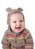 веселый младенец Стоковая Фотография RF