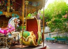 Весел-идти-кругло в Париже Стоковое Изображение RF