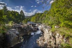 Весеннее время в северо-западе Шотландии Стоковое Изображение