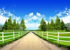 весеннее время горы Стоковые Изображения