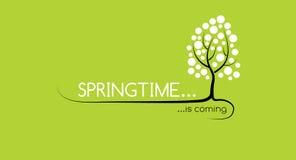 Весеннее время приходит Стоковое Фото