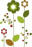 весеннее время 2 цветков цветеня цветастое Стоковые Изображения